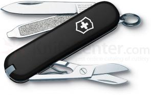 Victorinox Swiss Army Classic SD Multi-Tool, Black, 2-1/4 inch Closed