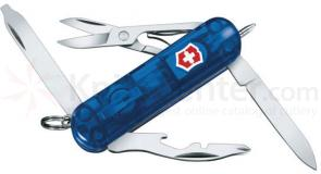 Victorinox Swiss Army Midnight Manager Sapphire 2-1/4 inch Handle with White LED Light