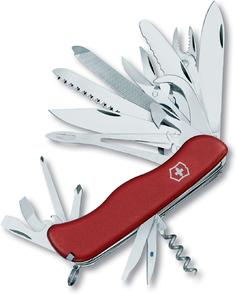 Victorinox Swiss Army WorkChamp XL Multi-Tool, Red, 4.37 inch Closed