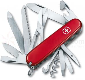 Victorinox Swiss Army Ranger Multi-Tool, 3-1/2 inch Red Handles
