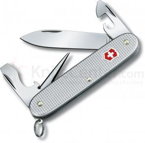 Victorinox Swiss Army Pioneer Multi-Tool, Silver Alox, 3.5 inch Closed