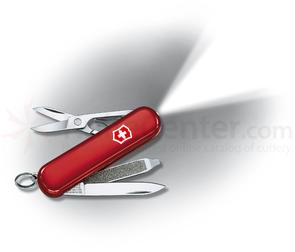 Victorinox Swiss Army SwissLite Multi-Tool with LED, Red, 2.28 inch Closed
