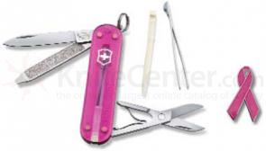 Victorinox Swiss Army Classic SD 2.25 inch Pink Handles
