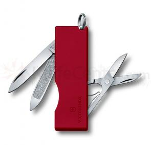 Victorinox Swiss Army Tomo Multi-tool, 2-1/4 inch Red Handles