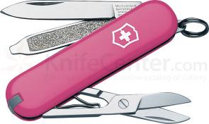 Victorinox Swiss Army Classic SD Multi-Tool, 2-1/4 inch Pink Handles