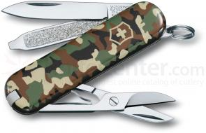 Victorinox Swiss Army Classic SD Camo Multi-Tool, 2-1/4 inch Closed