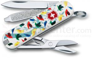 Victorinox Swiss Army 2013 Contest Classic Multi-Tool, Little Birds, 2-1/4 inch Closed (0.6223.L1306US1)