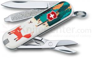 Victorinox Swiss Army 2013 Contest Classic Multi-Tool, Foxy, 2-1/4 inch Closed (0.6223.L1308US1)