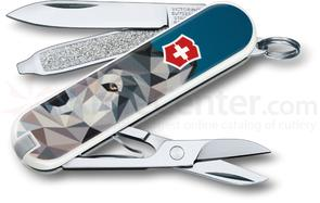 Victorinox Swiss Army Contest Classic SD Limited Edition 2017 Multi-Tool, The Wolf is Coming Home, 2.25 inch Closed