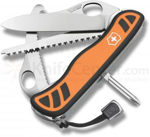 Victorinox Swiss Army Orange Hunter XT Multi-Tool, 4-3/8 inch Handles (0.8441.MC9US2)