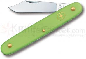 Victorinox Swiss Army Day Packer Utility Knife, 4 inch Green Handles
