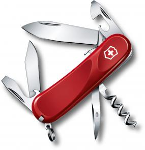 Victorinox Swiss Army 2.3603.SE Locking Evolution S101 Multi-Tool 3-3/8 inch Red Handles