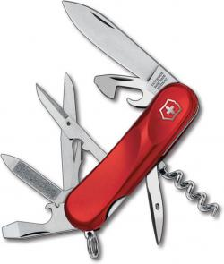 Victorinox Swiss Army 2.3903.E Evolution 14 Multi-Tool 3-3/8 inch Red Handles