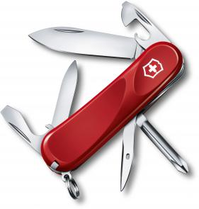 Victorinox Swiss Army 2.4803.E Evolution 11 Multi-Tool 3-3/8 inch Red Handles