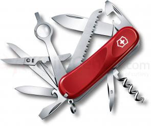 Victorinox Swiss Army 2.5013.E Evolution 23 Multi-Tool 3-3/8 inch Red Handles