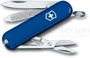 Victorinox Swiss Army Classic SD Multi-Tool, Blue, 2-1/4 inch Closed
