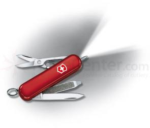 Victorinox Swiss Army Signature Lite Multi-Tool with LED, Red, 2.28 inch Closed
