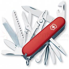 Victorinox Swiss Army Craftsman Multi-Tool 3-1/2 inch Red Handles