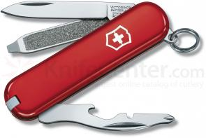 Victorinox Swiss Army Rally Multi-Tool 2-1/4 inch Red Handles