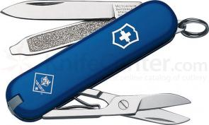 Victorinox Swiss Army Classic SD Multi-Tool, Blue, Cub Scout, 2.28 inch Closed