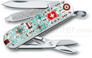 Victorinox Swiss Army 56121 Limited Edition Classic 2012 Multi-Tool, Electro Love, 2-1/4 inch Closed