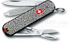 Victorinox Swiss Army 56122 Limited Edition Classic 2012 Multi-Tool, Labyrinth, 2-1/4 inch Closed