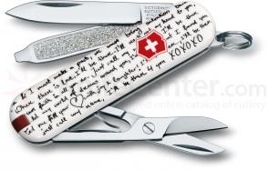 Victorinox Swiss Army 56125 Limited Edition Classic 2012 Multi-Tool, Love Song, 2-1/4 inch Closed