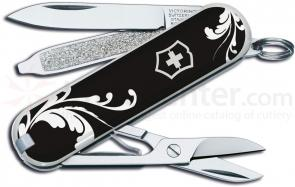 Victorinox Swiss Army Classic SD Scroll Fashion Print Multi-Tool, 2-1/4 inch Closed