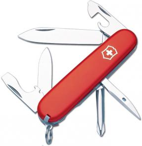 Victorinox Swiss Army Tinker Multi-Tool, 3-1/2 inch Red Handles