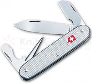 Victorinox Swiss Army Electrician Multi-Tool, 3-1/2 inch Silver Alox Handles