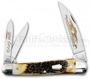 Schatt & Morgan 2012 President's Choice 9th Edition Large Dogleg Whittler, Limited Edition in Presentation Box