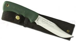 Schrade Safe-T-Grip 10-3/8 inch Trail Boss Hunting Knife with Nylon Sheath