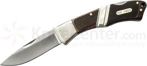 Schrade Old Timer Mountain Beaver Sr. Lockback Folder 4.5 inch Closed