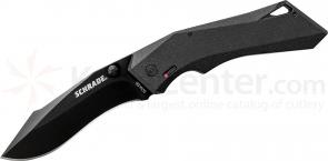 Schrade A13B Shiznit MAGIC Assisted Opening 3.41 inch Blade, Black Aluminum Handles