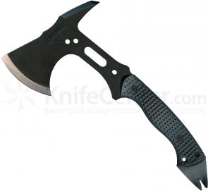 Schrade Extreme Tactical Hatchet 12.8 inch Overall, SK5 Steel, Black Zytel Handle, Nylon Sheath