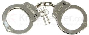 Schrade Professionals Chain Link Handcuff Nickel-Plated Finish