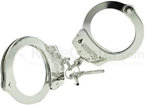 Schrade SCHC Professionals Chain Link Handcuff Nickel-Plated Finish