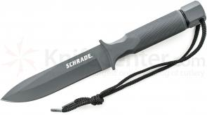 Schrade SCHF1SM Extreme Hollow Handle Survival Special Forces 5.6 inch Plain Blade, Nylon Sheath