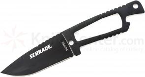 Schrade Extreme Survival Neck Knife 3.1 inch Plain Blade, Zytel Sheath