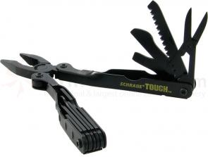 Schrade Tough Tools Multi-Tool Black Finish 4.8 inch Closed w/ Nylon Sheath
