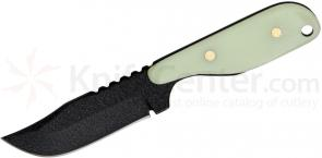 Shadow Tech Talon E Fixed 3-1/2 inch Black 1095 Bowie Blade, Moonglow G10 Handle, Kydex Sheath