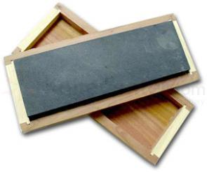 Hall's Pro Edge WBC6 Surgical Black Arkansas Extra-Fine Bench Stone 6 inch x 2 inch x 1/2 inch