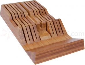 Shun Bamboo In-Drawer Knife Tray 11 Slots