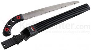 Silky Saws Gomtaro 300 Pistol Grip Saw, 11.8 inch Straight Blade, Rubber Handle, Plastic Sheath