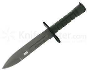Smith & Wesson Special Ops 7 inch Fixed Blade, Commando Green Handle, Nylon Sheath