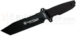 Smith & Wesson Homeland Security Black G10 Handle,Plain,Cordura Sheath
