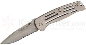 Smith & Wesson Baby Frame Lock SWAT Knife Combo Edge
