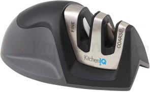 KitchenIQ by Smith's 50009 Edge Grip 2-Step Knife Sharpener