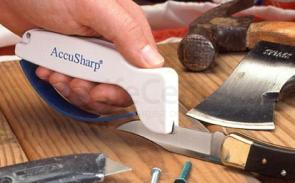 Accusharp V Sharp Tungston Carbide Replaceable Blade Sharpener