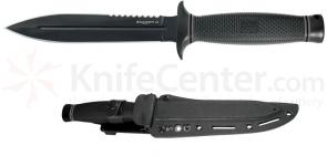 SOG Daggert 2 (Black TiNi) 6.6 inch Double Edge Blade with Kydex Sheath